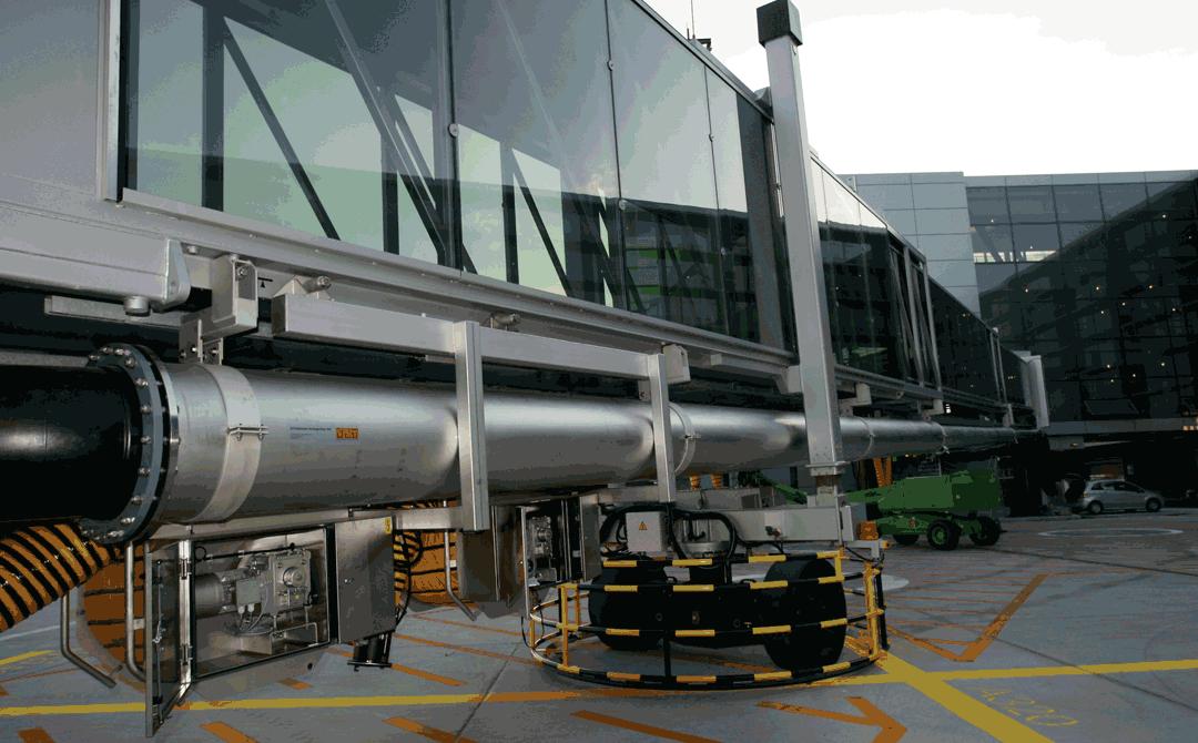 Pre Conditioned Air Pca Teleskoprohr Ist Edelstahl